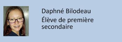 auteur daphne bilodeau